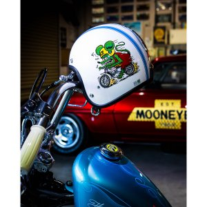 "Greaser HELMETS (グリーサー ヘルメット) ""Rat Fink 2021"" ラットフィンク ヘルメット|mooneyes"
