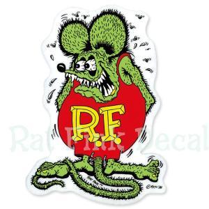 Rat Fink(ラットフィンク)  デカール カラー L 20×14cm|mooneyes