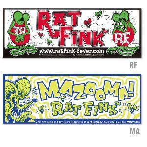Rat Fink(ラットフィンク)  バンパーデカール|mooneyes