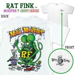 Rat Fink(ラットフィンク)  モンスター Tシャツ