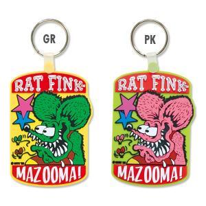 Rat Fink (ラット フィンク) MAZOOMA キーリング|mooneyes