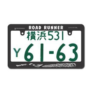 ロード ・ ランナー ライセンス フレーム ROAD RUNNER (ロードランナー)|mooneyes