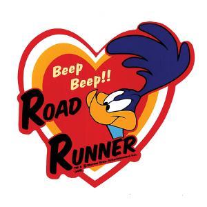 ロード ・ ランナー デカール Heart|mooneyes