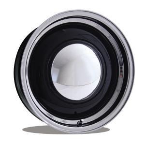 ムーンアイズ ベビー ムーン スペシャル ホイール 16インチ 5穴 112mm +25mm ブラック/ポリッシュ|mooneyes