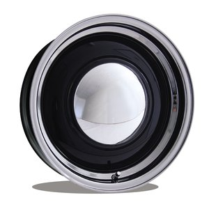 ベビー ムーン スペシャル 16インチ 5穴 ブラック/ポリッシュ mooneyes