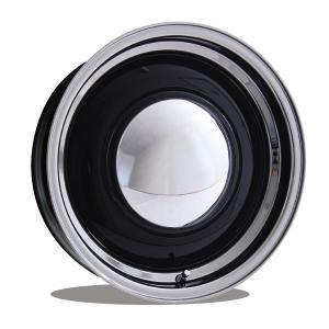 ベビー ムーン スペシャル 16インチ 6穴 ブラック/ポリッシュ|mooneyes