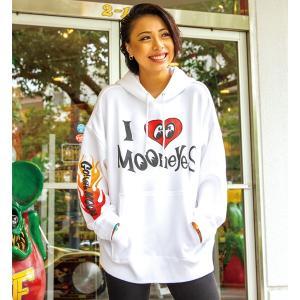 I Love MOON フーディー|mooneyes