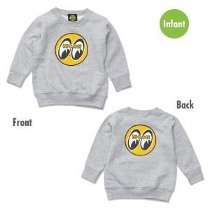 EYEBALL インファント(幼児用) スウェット シャツ|mooneyes