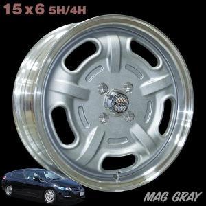 Speed Master Wheel 15×6 マググレー|mooneyes