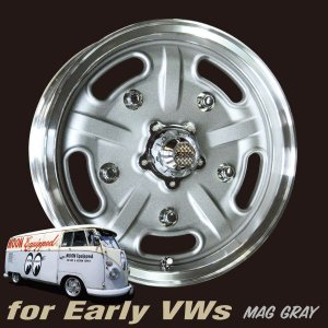Speed Master Wheel 15×5 VW用<マググレー>|mooneyes