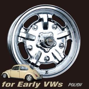 Speed Master Wheel 15×5 VW用 ポリッシュ|mooneyes