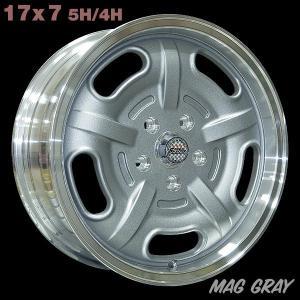 Speed Master Wheel 17×7 マググレー|mooneyes