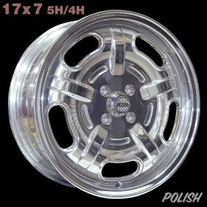 Speed Master Wheel 17×7 ポリッシュ|mooneyes