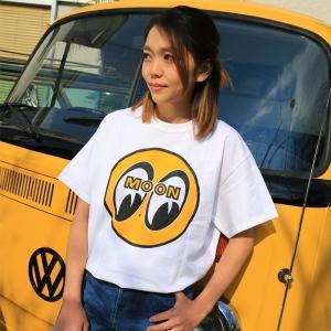 【XXL サイズ】MOON EYEBALL Tシャツ|mooneyes