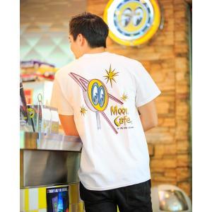MOON Cafe Tシャツ|mooneyes