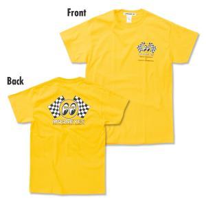 Checker MOON Tシャツ|mooneyes