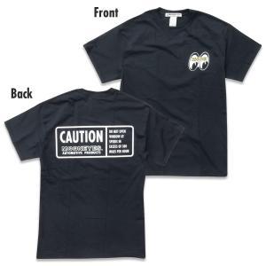ムーンアイズ MOON CAUTION Tシャツ|mooneyes