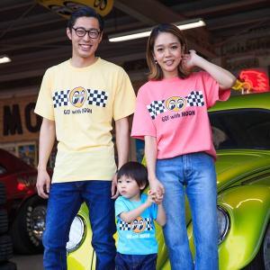 Go with MOON Tシャツ|mooneyes