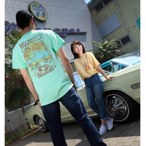 MOON Alooha Tシャツ|mooneyes