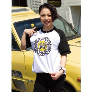 横浜 ムーンアイズ 本牧 ラグラン Tシャツ|mooneyes
