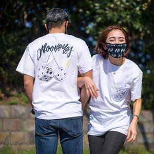 ムーンアイズ (MOONEYES)  ダイス ポケット Tシャツ|mooneyes