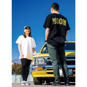 ムーンアイズ MOON Embroidery パッチ Tシャツ|mooneyes