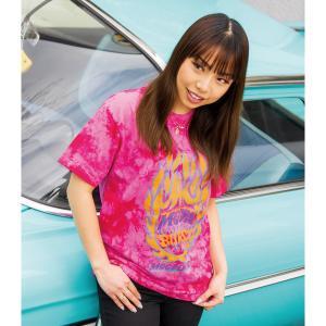 ムーンアイズ MOONEYES Burst タイダイ Tシャツ|mooneyes