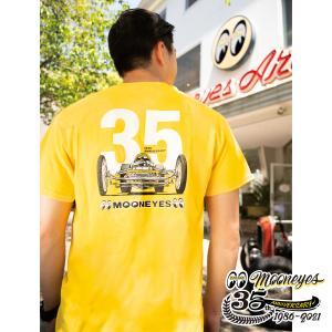 ムーンアイズ MOONEYES 35th Anniv. Limited Tシャツ|mooneyes