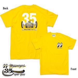 XXLサイズ ムーンアイズ MOONEYES 35th Anniv. Limited Tシャツ|mooneyes