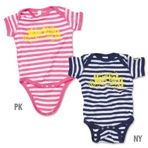 MOON Stripe Baby ロンパース|mooneyes