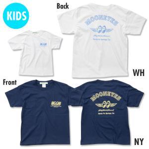 キッズ & レディース Fly with MOON Tシャツ|mooneyes