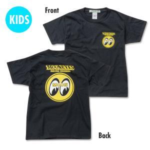 キッズ & レディース MOONEYES Racing Division Tシャツ|mooneyes