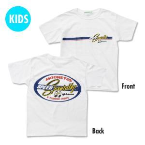 キッズ&レディース Speed Specialty Tシャツ|mooneyes