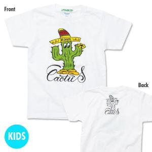 キッズ MOON Cactus Tシャツ|mooneyes