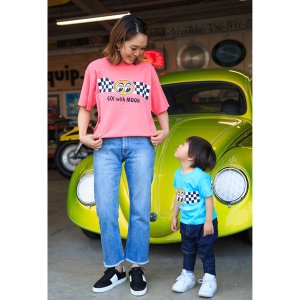 Kids Go with MOON Tシャツ|mooneyes