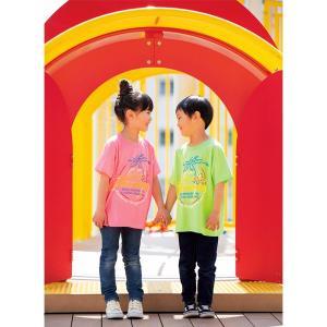 キッズ & レディース MOON ネオン サイン Tシャツ|mooneyes