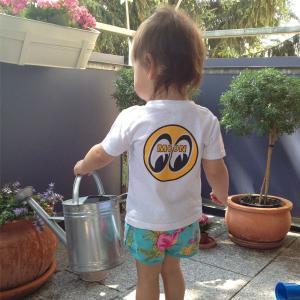 MOON Infant T-Shirt (70cm〜90cm)|mooneyes