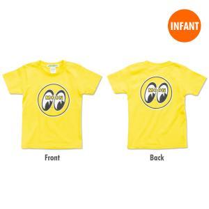 MOON Infant T-Shirt (70cm / 90cm) イエロー|mooneyes