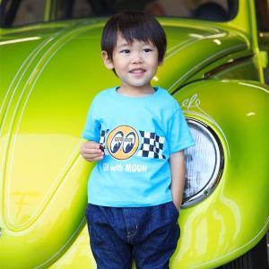 インファント Go with MOON Tシャツ|mooneyes
