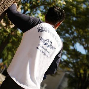 FLY with MOON Raglan 3/4 Sleeve T-Shirts|mooneyes