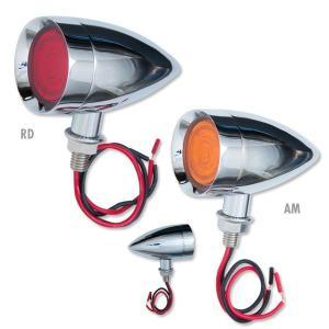 9 LED デュアル ファンクション ミニ バレット ライト|mooneyes