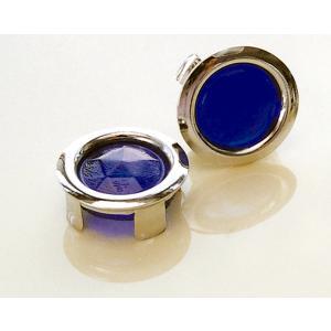 グラス ブルー ドット|mooneyes