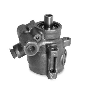 GM タイプ2 パワーステアリング ポンプ ブラック|mooneyes