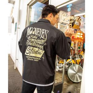MOON S & P Studio ウインドブレーカー|mooneyes