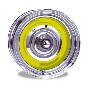 Bullet スティール ホイール クローム/ベア 15×6|mooneyes