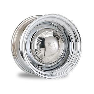 Gennie スティール ホイール クローム 15×10|mooneyes