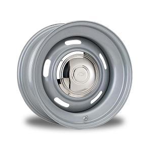 スペシャル オーダー Chevy Style Rallye ベア(シルバー塗装) 17×9|mooneyes
