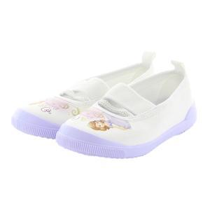 上履き ムーンスター 子供靴 ディズニー プリンセス ソフィア バレー01 パープル 上靴 入園式 ...