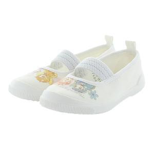 リルリルフェアリル 子供靴 上履き RRFバレー01 ホワイト MOONSTAR