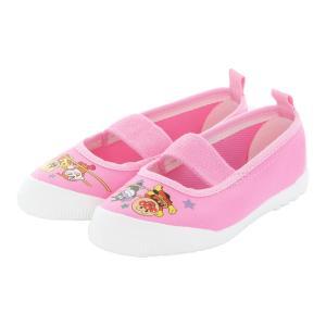 アンパンマン 上履き ムーンスター 子供靴 バレー02 ピンク 上靴 入園式 入学式 moonsta...